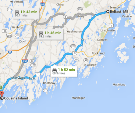 Next leg of Maine