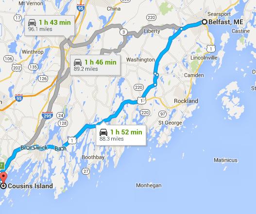 Next leg of Maine