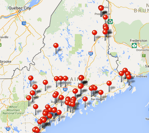 Things to see in Maine