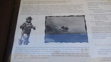 Smokey Bear Historical Marker