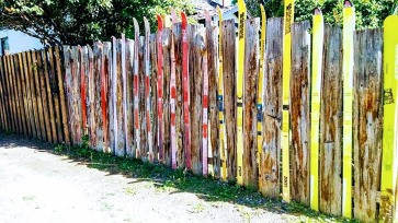 Unique ways to build a fence